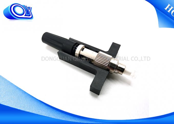 White / Black FC Fiber Optic Fast Connector Reliable And Stable For Test Equipment