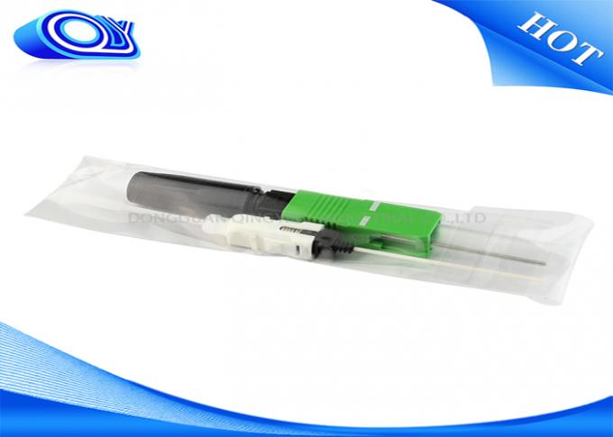 FTTH Fiber Optic Quick Connection Fast Connector For Drop Cable
