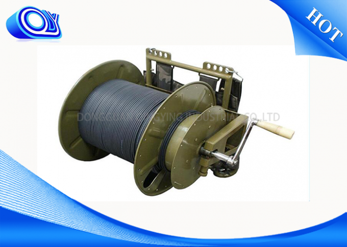 1 ~ 12 Cores Fiber Optic Cable Reel For Trailers 2KM To 4KM Per Reel Package