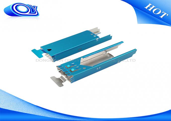 ROHS Fiber Optic Components SFP Case & Jacket Fiber Optic Transceiver Anodizing / Polishing Finish