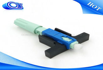 China OEM Single Mode Fiber Connectors , SC Type Fiber Optic Connector For LAN supplier