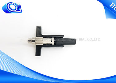 China White / Black FC Fiber Optic Fast Connector Reliable And Stable For Test Equipment supplier