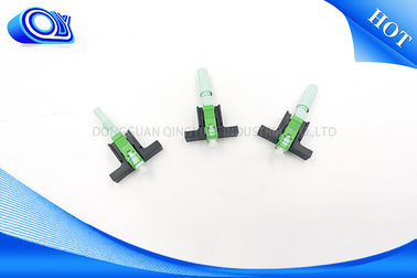China Field Assembly Fiber Optic Fast Connector SC / APC / UPC For FTTH Patch Cord supplier