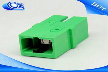China Telecommunication Networks SC APC Adapter , SM / MM Fiber Optical Adapter supplier
