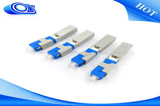 China OEM SC UPC Field Installable Connector SC Fiber Optic Connector Blue Color supplier
