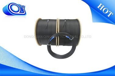 China 200m TPU Armoured Fiber Optic Cable With LC / SC Connectors Patch Cord supplier