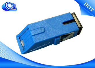 China Internal Shutter Adapter Fiber Optic Adapter Simplex For Local Area Networks supplier