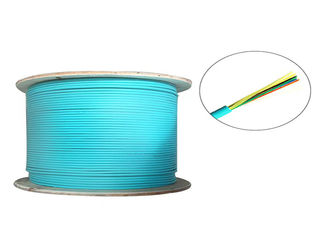China OM2 / OM3 / OM4 Indoor Fiber Optic Cable Drum High Temperature Stability supplier
