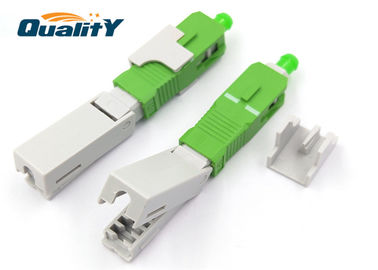 China Easy Assemble Optics Fiber Fast Connector For Direct Equipment Termination supplier
