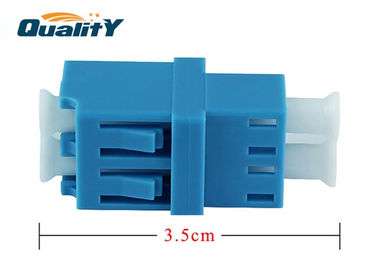 China Single Mode LC UPC Fiber Optic Adapter Operating Wavelength 1260nm supplier