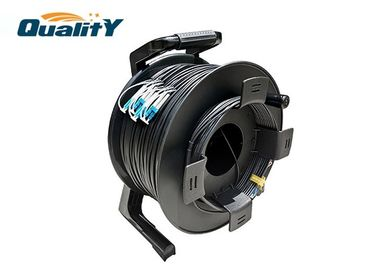 China Flexible Plastic Armored Cable Reel To Protect Optical Fiber Cable Drum supplier
