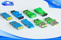 Good Quality Armored Optical Cable & LC Fiber Optic Adapter Simplex / Duplex SC TO FC Fiber Adapter Without Flange on sale