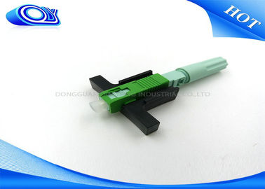 China SC APC Fiber Optic Quick Connector factory