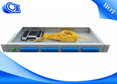 China High Stability Fiber Optic Termination Box , 1 * 32 Fiber Optic Coupler factory