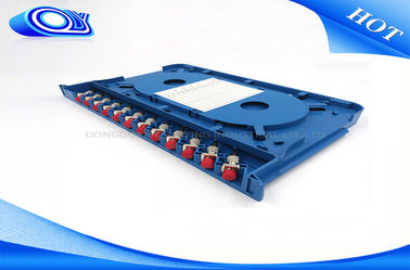 China 300 * 180 * 25mm Optical Fiber Patch Panel Rack Mount ODF For Indoor / Outdoor factory