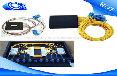 ODF BOX SC UPC PC Optical  PLC Splitter 1 X 4 1 X 32 Fiber Optic Coupler For FTTH