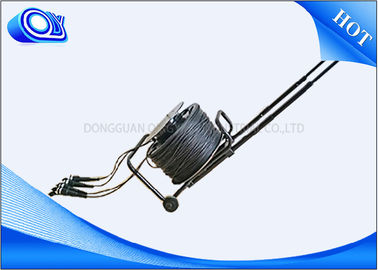 China 1 / 2 / 4 Core Fiber Optic Cable , Single Mode Armored Fiber Cable Unarmored Options factory