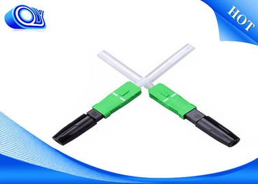 China SC/APC UPC hot melt type fiber optic fast connector factory