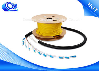 3G 4G Wireless Single Mode Armored Fiber Cable With Stainless Steel Tube