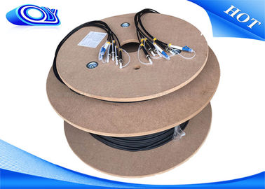China Outdoor waterproof  6F unarmoured or armoured optical Cable factory