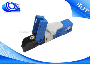 China Single Model SC Type Fiber Optic Fast Connector FTTH Low Polarization Dependent Loss factory