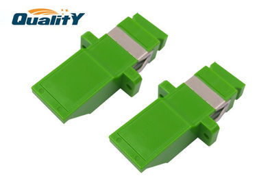 China High Durability Fiber Optic Adapter For Telecommunication / CATV / Multimedia factory