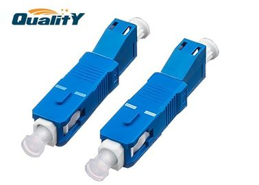 China Blue Color Optical Fiber Conversion Adapter High Corrosion Resistance factory