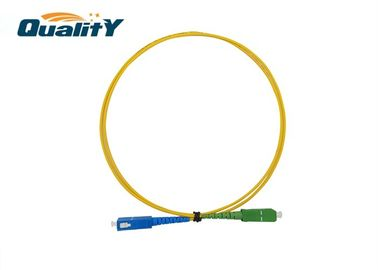 China FTTX Network Sc - Sc Optical Fiber Patch Cord Customizable Length factory