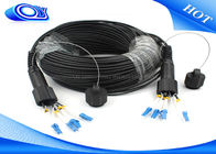 Waterproof Outdoor Fiber Optic Patch Cord ODLC / PDLC Duplex or Simplex